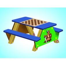 Скамья № 27 «Шахматный стол»