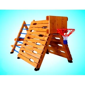 Комплекс с баскетбольным кольцом