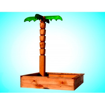 Песочница с пальмой