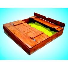 Песочница-коробка с крышками