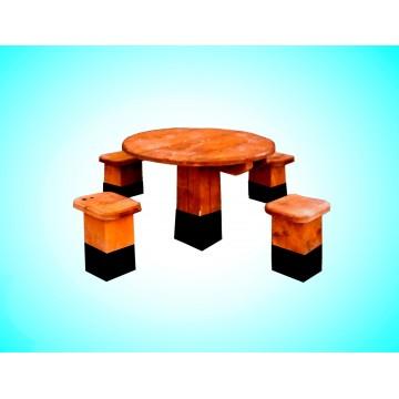 Скамья из дерева №11