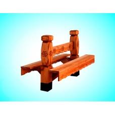 Скамья из дерева №2