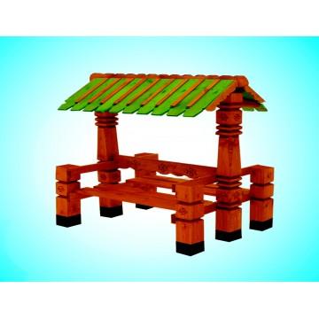 Скамья из дерева №4
